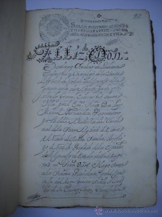 Manuscritos antiguos: DOCUMENTO MANUSCRITO- MADRID- TITULOS DE PERTENENCIA CALLE SAN ANTON Nº 7 MANZANA 317.800 FOLIOS - Foto 11 - 28405324
