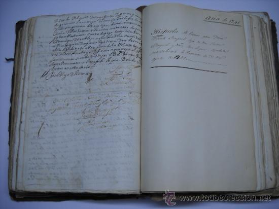 Manuscritos antiguos: DOCUMENTO MANUSCRITO- MADRID- TITULOS DE PERTENENCIA CALLE SAN ANTON Nº 7 MANZANA 317.800 FOLIOS - Foto 12 - 28405324