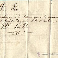 Manuscritos antiguos: FACTURA MANUSCRITA AÑOS 1870/1890 . Lote 28456625