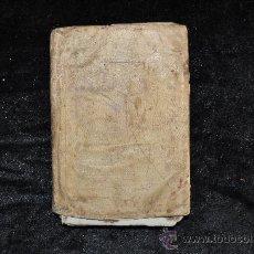 Manuscritos antiguos: LIBRO EN TAPAS DE PERGAMINO DE 1842. Lote 28594478