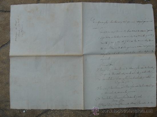 CERTIFICACIÓN DE ELECCIONES DIPUTADOS A CORTES. PRIEGO 23-I-1876. DIM.- 22X31,5 CMS. (Coleccionismo - Documentos - Manuscritos)