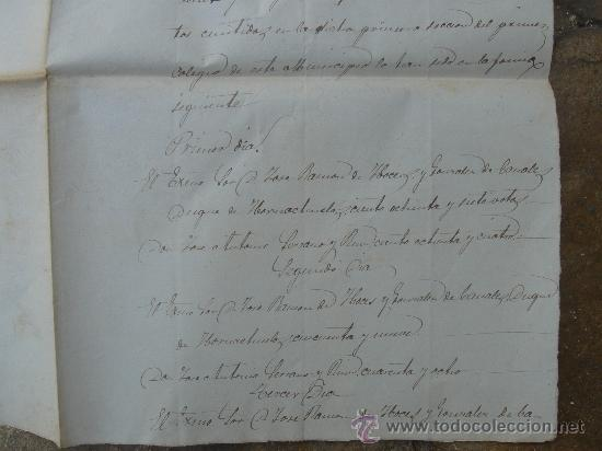Manuscritos antiguos: DETALLE - Foto 5 - 28538596