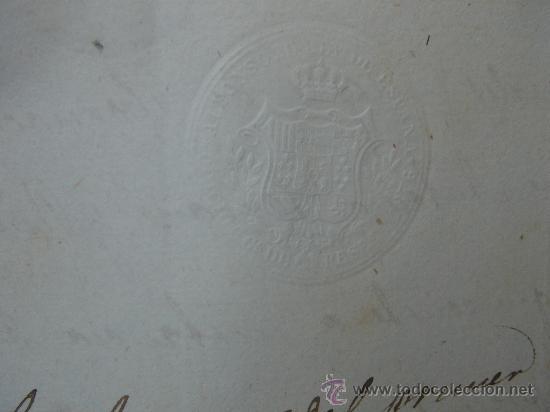Manuscritos antiguos: DETALLE SELLO - Foto 7 - 28538596