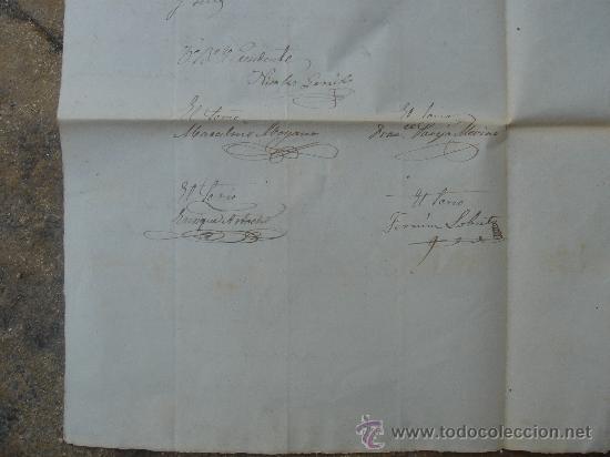 Manuscritos antiguos: DETALLE FIRMAS - Foto 12 - 28538596