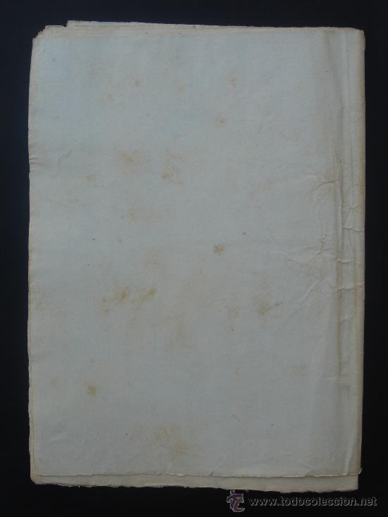 Manuscritos antiguos: ÚLTIMA PÁGINA (REVERSO) - Foto 3 - 28538622