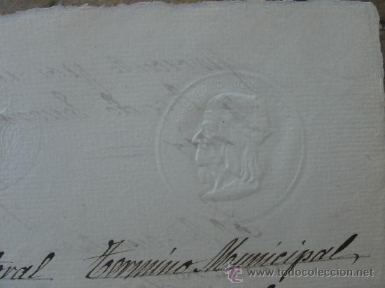 Manuscritos antiguos: DETALLE SELLO - Foto 8 - 28538622