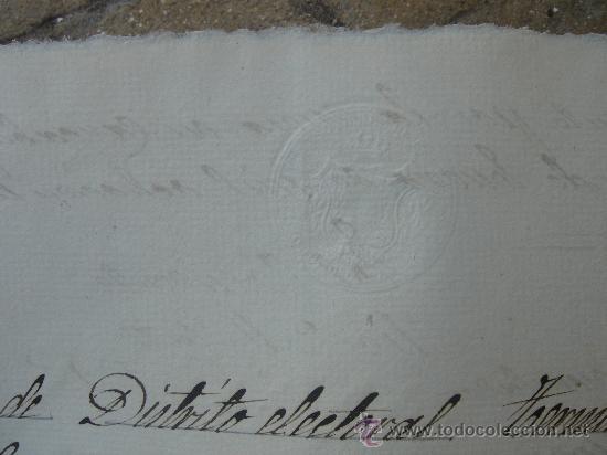 Manuscritos antiguos: DETALLE SELLO - Foto 9 - 28538622