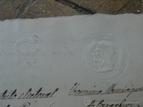 Manuscritos antiguos: DETALLE SELLOS - Foto 17 - 28538622