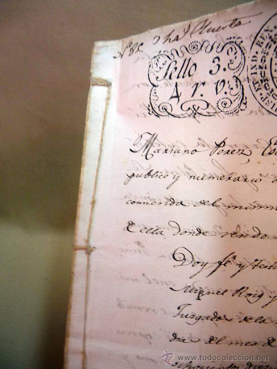 Manuscritos antiguos: DOCUMENTO, MANUSCRITO DE PROPIEDAD, 1819, MARIANO PEREZ, 20 PAG, PICASENT, VALENCIA, - Foto 6 - 28659939