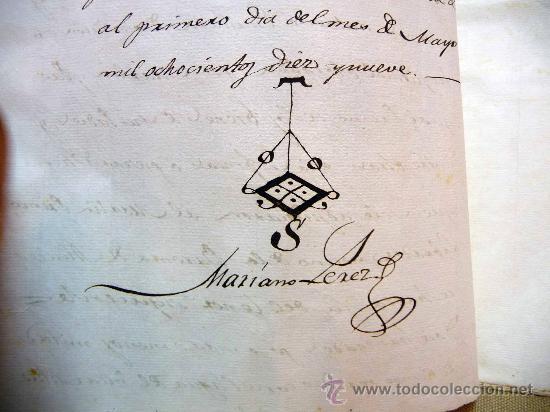 Manuscritos antiguos: DOCUMENTO, MANUSCRITO DE PROPIEDAD, 1819, MARIANO PEREZ, 20 PAG, PICASENT, VALENCIA, - Foto 5 - 28659939
