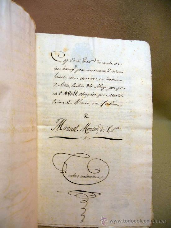 Manuscritos antiguos: DOCUMENTO, MANUSCRITO DE PROPIEDAD, 1819, MARIANO PEREZ, 20 PAG, PICASENT, VALENCIA, - Foto 4 - 28659939