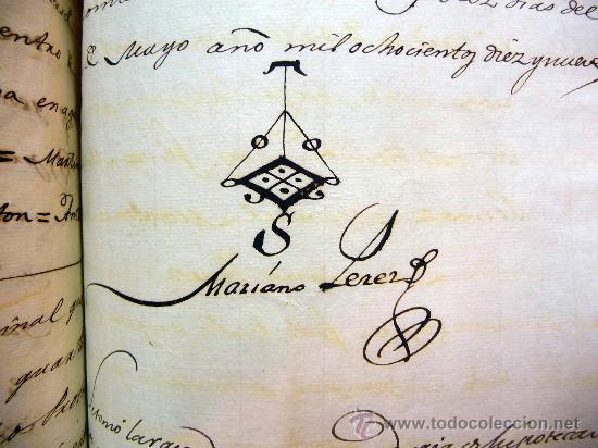 Manuscritos antiguos: DOCUMENTO, MANUSCRITO DE PROPIEDAD, 1819, MARIANO PEREZ, 20 PAG, PICASENT, VALENCIA, - Foto 2 - 28659939