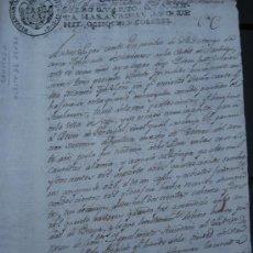 Manuscritos antiguos: 1806. GALICIA. SANTIAGO DE COMPOSTELA. SOMBRERERIA RECLAMACIÓN 400 SOMBREROS DOMINGO DA COSTA. Lote 28697965