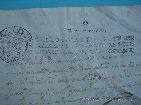Manuscritos antiguos: DETALLE DEL DOCUMENTO - Foto 2 - 28726009