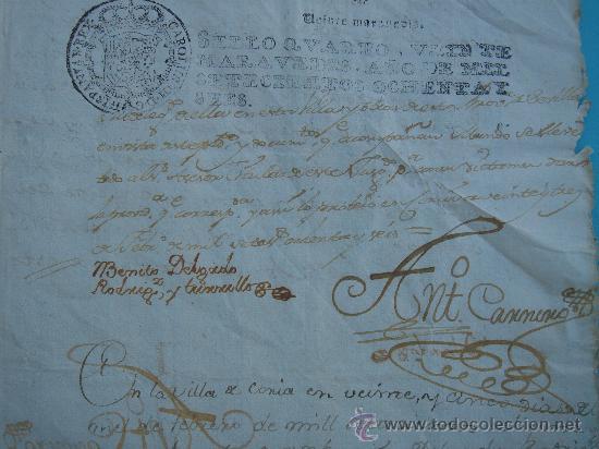Manuscritos antiguos: DETALLE DEL DOCUMENTO - Foto 3 - 28726009