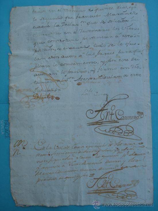 Manuscritos antiguos: OTRA CARA DEL DOCUMENTO - Foto 5 - 28726009