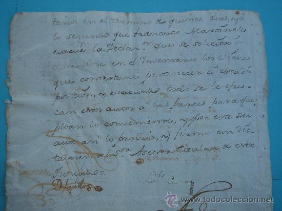 Manuscritos antiguos: DETALLE DEL DOCUMENTO - Foto 6 - 28726009