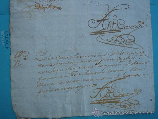 Manuscritos antiguos: DETALLE DEL DOCUMENTO - Foto 7 - 28726009