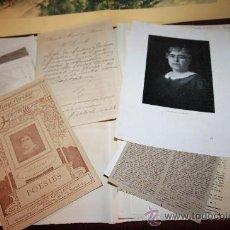 Manuscritos antiguos: CARPETA CON DOCUMENTACIÓN DE LA AUTORA CATERINA ALBERT-VÍCTOR CATALÀ. PROCEDENTE ARCHIVO PRIVADO. Lote 28843437
