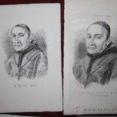 Manuscritos antiguos: CARPETA CON MANUSCRITOS Y DOCUMENTACIÓN DEL TEÓLOGO FÉLIX AMAT. PROCEDENTE DE ARCHIVO PRIVADO. Lote 28870658