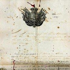 Manuscritos antiguos: DOCUMENTO CONCESION DE PASAPORTE A ESPAÑOL DE VIZCAYA PAIS VASCO , CUBA 1953 , ORIGINAL, K68. Lote 28904693