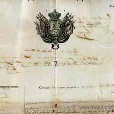 Manuscritos antiguos: DOCUMENTO CONCESION DE PASAPORTE A ESPAÑOL DE OVIEDO ASTURIAS , CUBA 1956 , ORIGINAL, K69. Lote 28904706