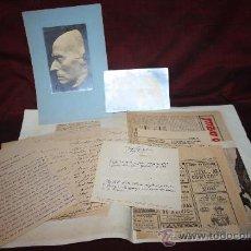 Manuscritos antiguos: CARPETA CON MANUSCRITOS Y DOCUMENTACIÓN DE JOSEP TORRAS I BAGÉS. PROCEDENTE DE ARCHIVO PRIVADO. Lote 28921224
