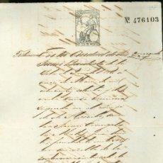 Manuscritos antiguos: SENTENCIA DE PRISIÓN Y EMBARGO EN SAN JUAN BAUTISTA, PUERTO RICO. SELLO 2.69PTA. Lote 28921302