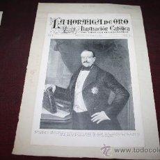 Manuscritos antiguos: CARPETA CON MANUSCRITOS Y DOCUMENTACIÓN DE BONAVENTURA CARLES ARIBAU. PROCEDENTE ARCHIVO PRIVADO. Lote 28938933