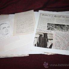 Manuscritos antiguos: CARPETA CON CARTA MANUSCRITA Y DOCUMENTOS DE EUGENI D'ORS. PROCEDENTE DE ARCHIVO PRIVADO. Lote 28939215