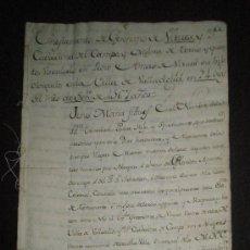 Manuscritos antiguos: TESTAMENTO DE GERONIMO DE VIXUES Y CATALINA DEL CAMPO OTORGADO EN VALLADOLID AÑO 1567 . Lote 29358003