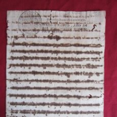 Manuscritos antiguos: ANTIGUO DOCUMENTO 1795 - MANUSCRITO. Lote 30181082