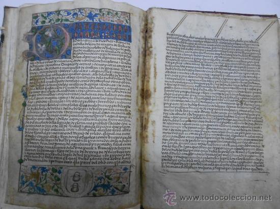 Manuscritos antiguos: REAL EXECUTORIA DE NOBLEZA SOLARIEGA DEL APELLIDO CALVO, Manuscrito pergamino 1502-1751 firma real - Foto 17 - 30387314