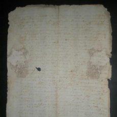 Manuscritos antiguos: MANUSCRITO COMPLETO AÑO 1570 PARA ESTUDIOSOS DE PALEOGRAFIA CON FIRMAS AUTOGRAFAS VIGURIA Y SANCHO . Lote 30770859