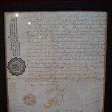 Manuscritos antiguos: DOCUMENTO MANUSCRITO ORIGINAL-FELIPE IV NOMBRA FRANCISCO TAMAYO Y CABREROS-JUAN DE MONTENEGRO-1639.. Lote 31089658