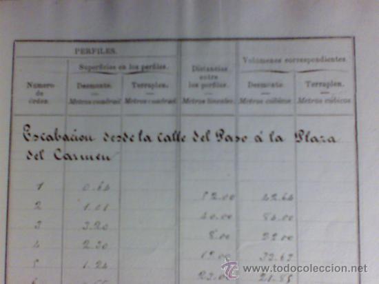 Manuscritos antiguos: PROYECTO DEL AÑO 1886 DE CONDUCCIÓN DE AGUAS POTABLES DE CAUDETE. ALBACETE. - Foto 4 - 31135131