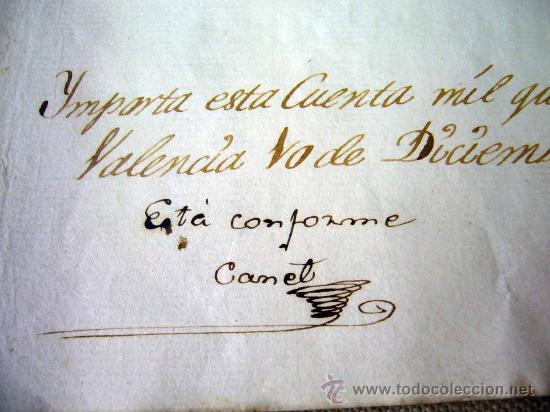 Manuscritos antiguos: MANUSCRITO, GASTOS, REAL SOCIEDAD, AMIGOS PAIS VALENCIANO, IMPRENTA MANUEL MONFORT, VALENCIA 1804 - Foto 5 - 31235252