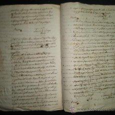 Manuscritos antiguos: EXTREMADURA MATRIMONIO ANDRES CARAMILLO VECINO BALCARROTA CON CATALINA MARTINEZ DE MURCIA AÑO 1790. Lote 31692536