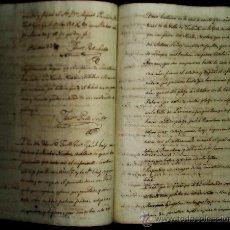 Manuscritos antiguos: MATRIMONIO 1792 N.NICOLAU NATURAL DE FALANIT MALLORCA CON Mª GONZALEZ PRETO DEL ARRABAL DE S.CARLOS. Lote 31844746
