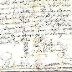 Manuscritos antiguos: CONJUNTO DE MANUSCRITOS EN LATÍN, CASTELLANO Y CATALÁN DE LOS SS. XVIII Y XIX. MATARÓ - BARCELONA. Lote 31845187