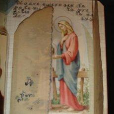 Manuscritos antiguos: MANUSCRITO POEMAS MARIANOS POR NOVICIA SOR MARIA INMACULADA S ARNZO.DEUSTO 1956. Lote 32025516