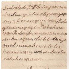 Manuscritos antiguos: *** CARTA PERSONAL MANUSCRITA VILLAR DEL PEDROSA 10 NOVIEMBRE 1903 ***. Lote 32050002