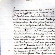 Manuscritos antiguos: DOCUMENTO MANUSCRITO DE VENTA DE MATAS DE OLIVAS, UNA DE CIEN PIES Y OTRAS, 1909 APROX, 15X22CM. Lote 32683149