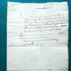 Manuscritos antiguos: DOCUMENTOS - 1757 - ESCRITURA MANUSCRITA - TIMBROLOGIA - SARGATAL PAGES -BATET -OLOT - 1757 -CATALAN. Lote 33093174