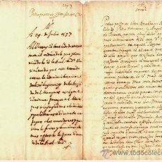 Manuscritos antiguos: MADRID / TERRANOVA 29 ABRIL1597.MEMORIAL A S.M.DE LOS ACREEDORES DEL MARQUÉS DE TERRANOVA. VIRREY. Lote 33211889