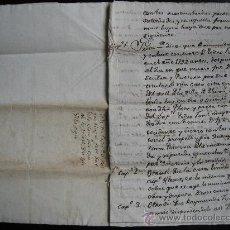 Manuscritos antiguos: 1792. TORÀ. THORÀ LLEIDA LERIDA. DOCUMENTOS DE CONFLICTO POR UNA CASA EN TORA. 11 PÁG.. Lote 33643671