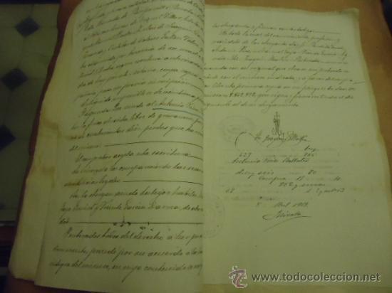 Manuscritos antiguos: ANTIGUISIMAS ESCRITUTRAS MANUSCRITAS 1919 - Foto 3 - 34692226