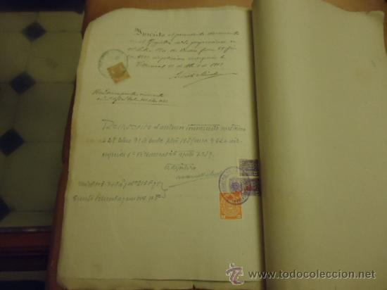 Manuscritos antiguos: ANTIGUISIMAS ESCRITUTRAS MANUSCRITAS 1919 - Foto 2 - 34692226