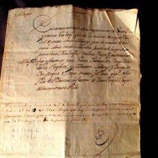 Manuscritos antiguos: DOCUMENTO MANUSCRITO NOTARIAL. VILASECA (TARRAGONA) AÑO 1788. CATALAN. Lote 35176041