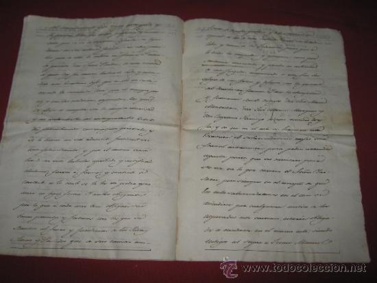 Manuscritos antiguos: DOCUMENTO FECHADO EN MEXICO EN 1834 - CONTRATO - ESCRITURA - Foto 3 - 35339689